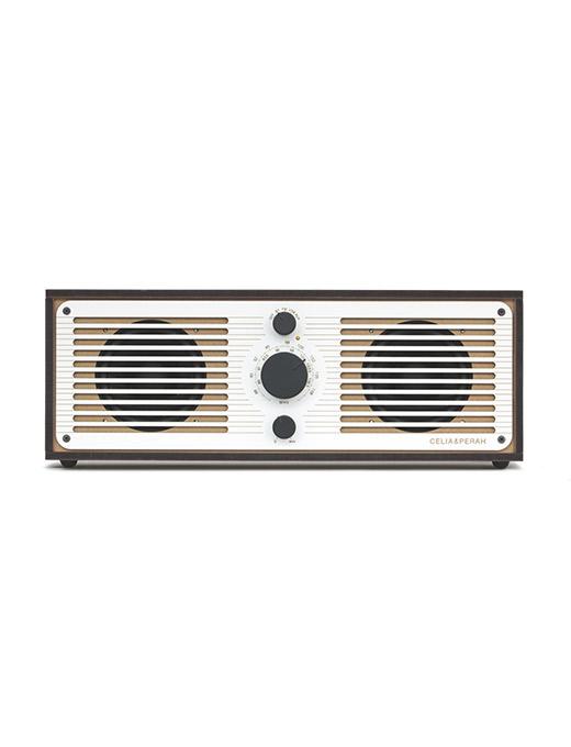 DIY木質音響R2-雪白
