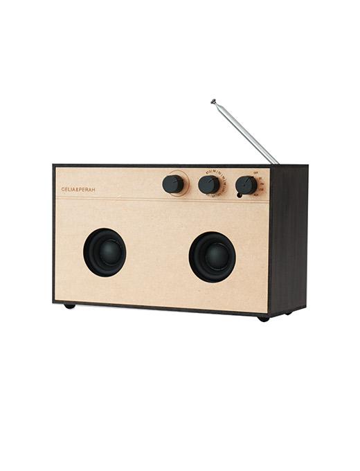 DIY木質音響R3-黑木紋