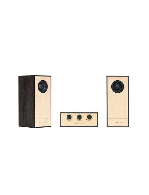 DIY木質音響R4-黑木紋