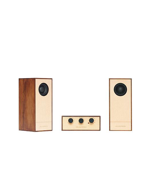 DIY木質音響R4-柚木紋